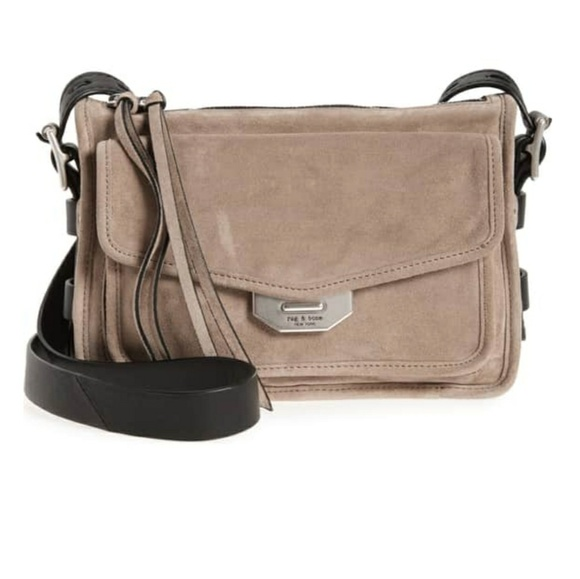 Rag   Bone Small Leather Field Messenger Bag 1d1c8dc8cc149